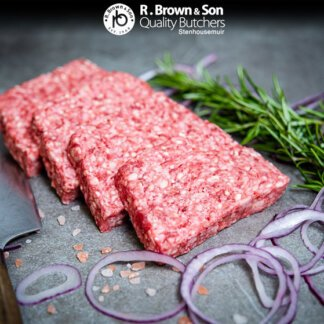 Square Sausage Sliced
