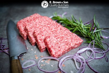 Square Sausage Sliced