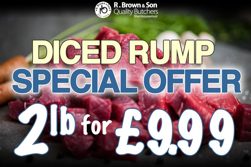 Diced Rump Offer