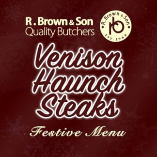 Venison Haunch Steaks