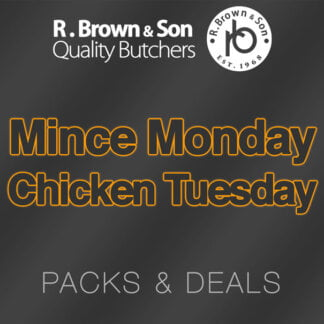 Mince Monday Chicken Tuesday